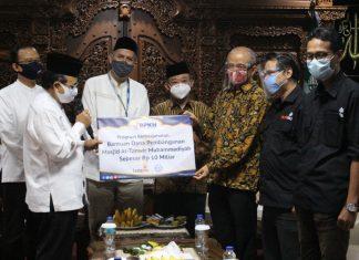 Dukung Program Sosial Keumatan, BPKH Serahkan Bantuan Kepada Muhammadiyah