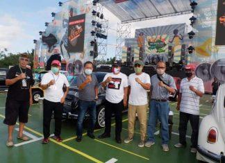 Cok Ace Apresiasi Konser Musik 'Drive In' Pertama di Bali