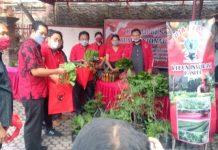 PDIP Gelar Pasar Gotong Royong Krama Denpasar Untuk Bantu Masyarakat Kecil