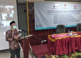 Kementerian Koperasi Dan UKM Gelar Pelatihan Terpadu di Lampung
