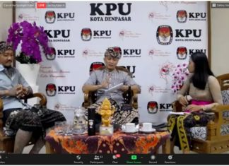 Genjot Partisipasi Masyarakat di Pilkada 2020, KPU Denpasar Gandeng Karang Taruna