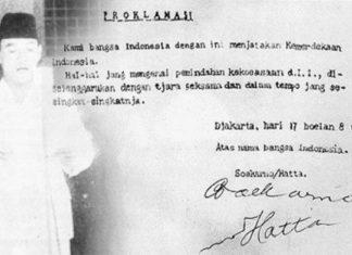 Naskah Proklamasi Tulisan Tangan Soekarno Akan Ditampilkan di Upacara HUT RI Besok