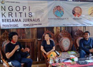 Ngopi Bereng Jurnalis, KNPI Bali: Pengangkatan Direksi Dan Komisaris BUMN Melanggar Hukum