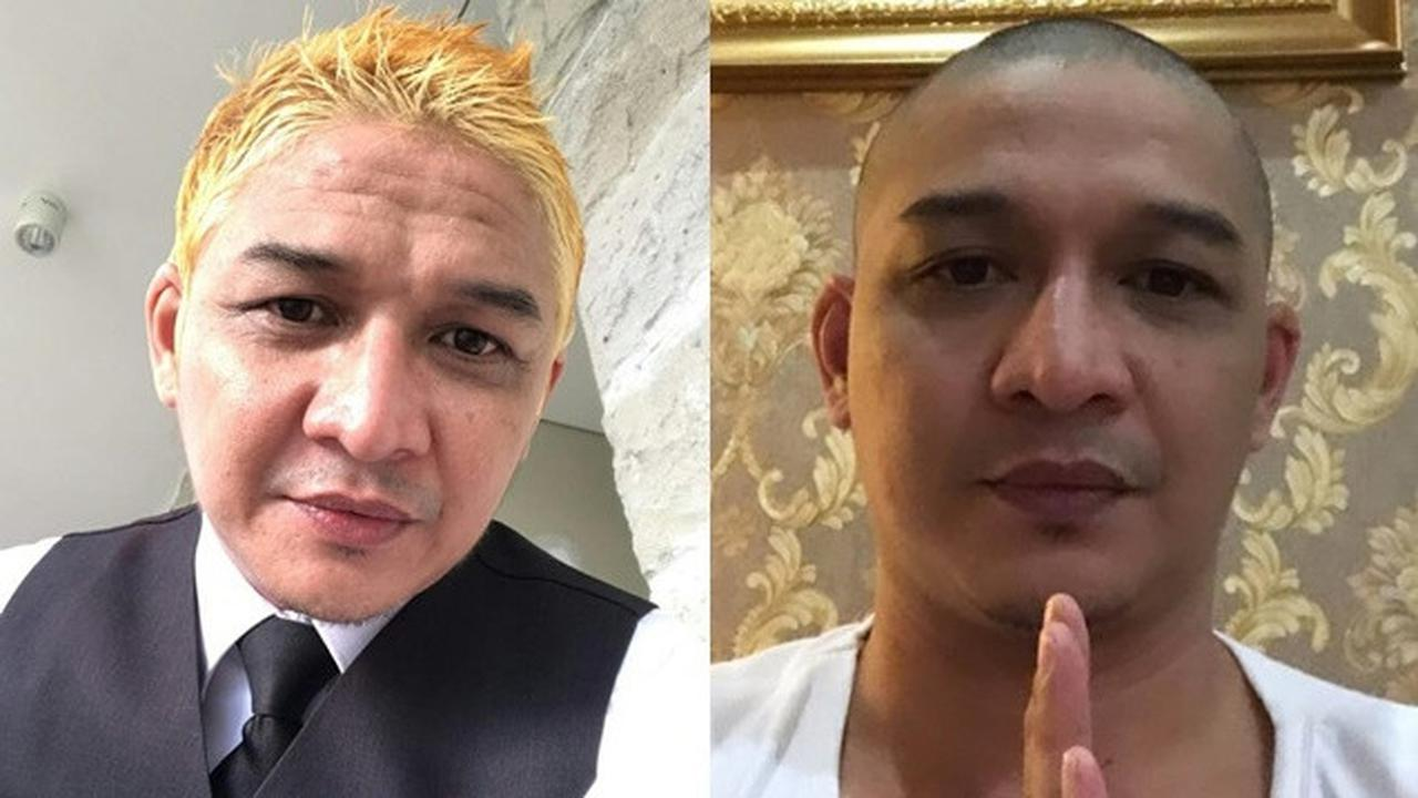 Habis Dikritik Tito, Pasha Ungu Kini Plontos