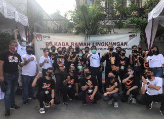 Pilkada Serentak 2020 Ramah Lingkungan, KPU Denpasar Gelar Aksi Tanam Pohon