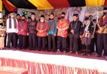 Wali Nagari Tidak Mengakui, Gubernur Sumbar ikut mengukuhkan Parik Paga Nagari Muaro Paneh