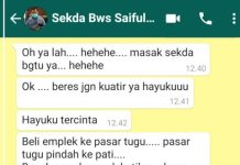 Begini Pengakuan Perempuan yang Chat Mesranya dengan Sekda Bondowoso Viral