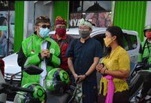 Inovasi Kenyamanan Kepada Pelanggan, Separator Gojek Dilaunching Wakil Walikota Denpasar
