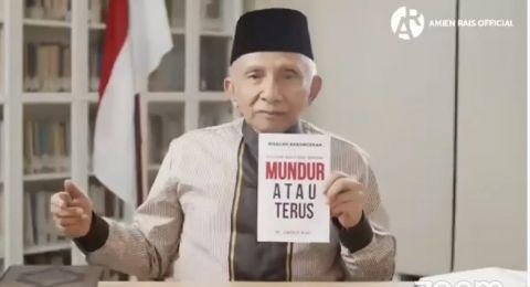 Amien Rais Beri Pilihan ke Jokowi Lewat Buku Baru: Mundur atau Terus