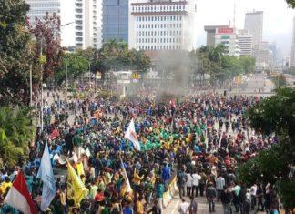 Mahasiswa: Tanggal 28 Kita Tantang Jokowi Lagi