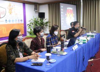 KPU Denpasar Gelar Bimtek Tentang Cara Penyerahan LPSDK
