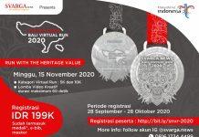 Svarga News Bali Virtual Run 2020 Siap Digelar Saat Denfest Tahun Ini