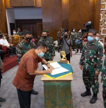 Walikota Denpasar Apresiasi TMMD ke-109 Kodim1611 Badung yang Selesai Tepat Waktu