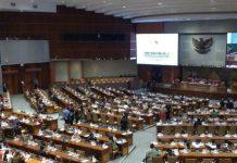Ngotot Bahas RUU Cipta Kerja, Fraksi Demokrat Wallout di Sidang Paripurna DPR