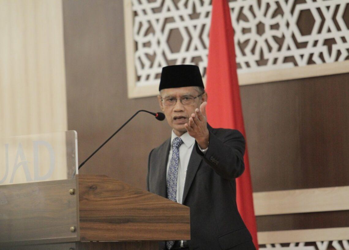 Haedar Nashir Kritik Penanganan Terorisme di Indonesia