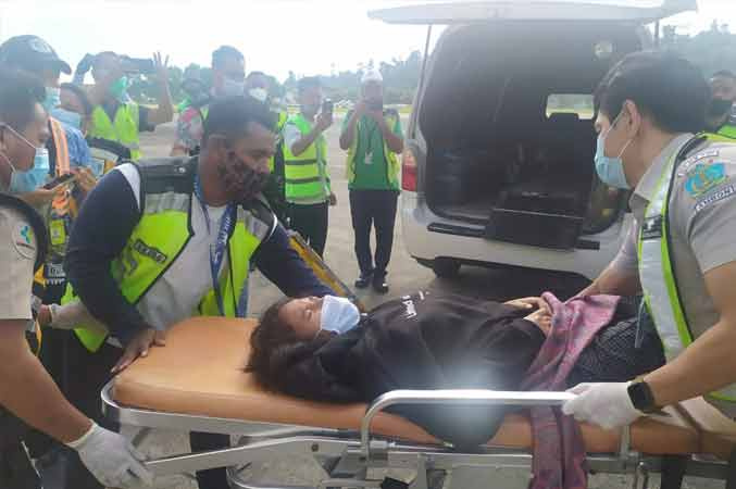 Wanita Melahirkan di Atas Pesawat, Terpaksa Mendarat di Ambon