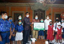 Walikota Denpasar Apresiasi BPD Bali Salurkan Beasiswa Pendidikan di Tengah Pandemi Covid-19