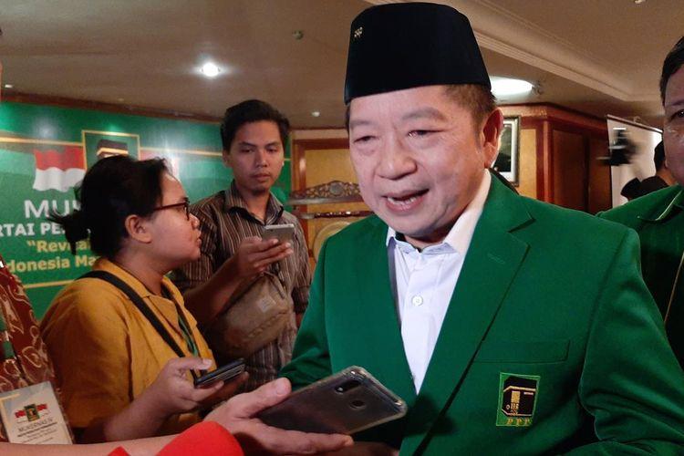 Aklamasi Jadi Ketum, Suharso Targetkan Kemenangan PPP di Pemilu 2024
