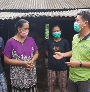 Bupati Klungkung Gelontorkan Bantuan Bedah Rumah