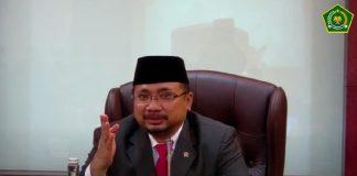 Menteri Agama Keluarkan Aturan Pembatasan Kegiatan di Rumah Ibadah
