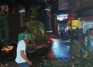 Pasca Malam Pergantian Tahun Kota Denpasar Tak Ada Lonjakan Sampah