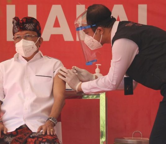 Jelang Vaksinasi Covid-19, Gubernur Bali Mengaku Takut dan Tegang