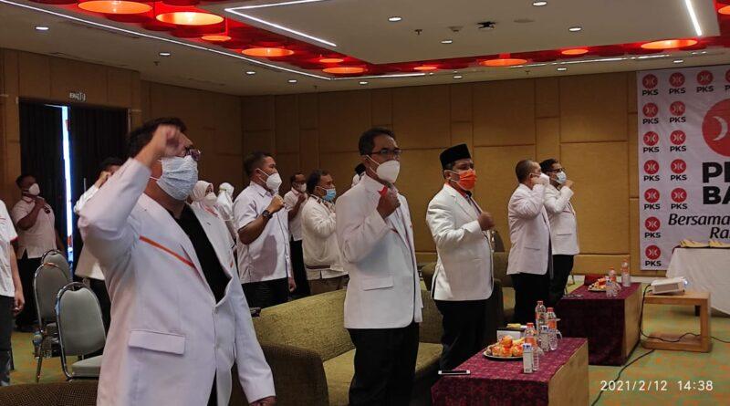 Pengurus PKS Bali Dilantik, Hilmun Sebut Pemilu 2024 Yakin Raih Satu Kursi DPR RI