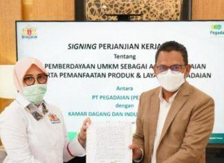Dukung UMKM Naik Kelas, Pegadaian Gandeng KADIN DKI Jakarta