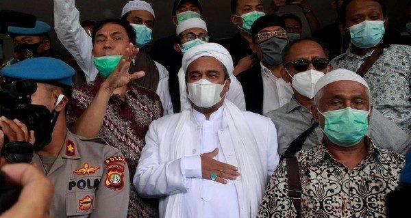 Habib Rizieq Batalkan Road Show Keliling Indonesia Demi Taati Prokes