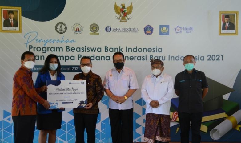 Bank Indonesia Bali Salurkan Program 225 Beasiswa Pendidikan