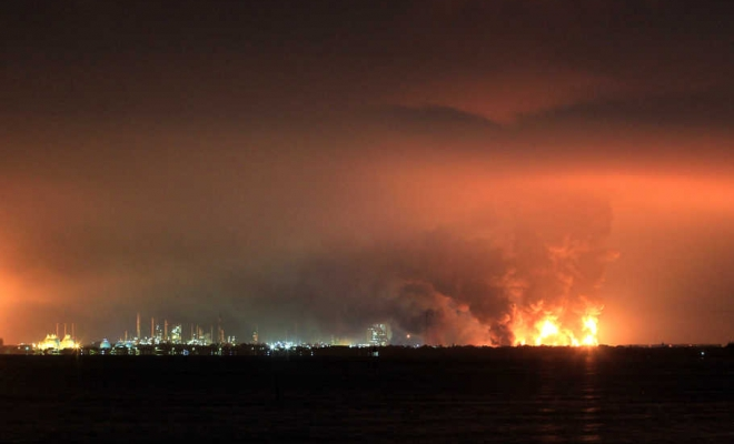Kilang Pertamina Balongan Terbakar Diduga Karena Tersambar Petir, Begini Kata Polisi