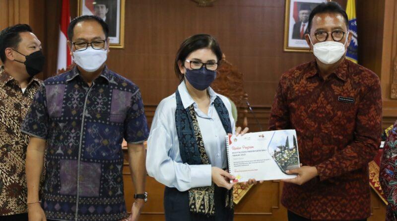 Wakil Bupati Suiasa Terima Kunjungan Kerja Komisi IX DPR RI