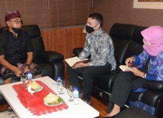 Ketua DPRD Bali Terima Pejabat Konjen Amerika Serikat