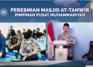 Hadirkan Islam Berkemajuan, Muhammadiyah Resmikan Masjid At-Tanwir