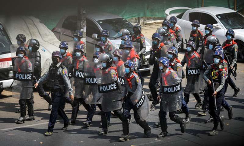 Balas Dendam Warga Myanmar kepada Aparat, Ogah Kuburkan Jenazah Polisi