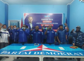 Tuding KLB Sumut Ilegal, DPD Demokrat Papua Siap Perang