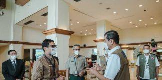 Sandiaga Ingin Manfaatkan Data BNPB Untuk Manajemen Krisis Pariwisata