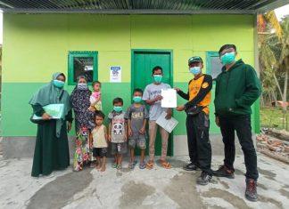 Nyata Untuk Ummat, Muhammadiyah Serahkan Sepuluh Hunian Sementara di Sulawesi Barat