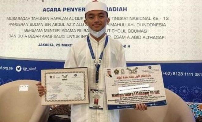 Provinsi Riau Raih Peringkat I Nasional Penghafal Al Qur'an