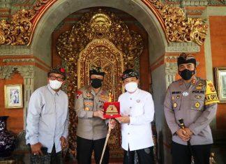 Jalin Tali Persaudaraan, Kapolda Bali Silaturahmi Ke Puri Ubud dan Puri Peliatan