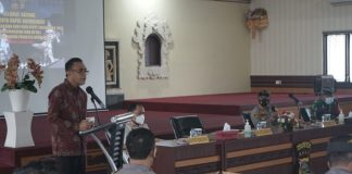 Jaya Negara Hadiri Rakor Nyepi Dan Isra' Mi'raj Di Polresta Denpasar