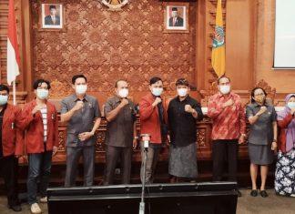 Terima Audensi Mahasiswa Muhammadiyah, DPRD Ajak Bangun Kota Denpasar