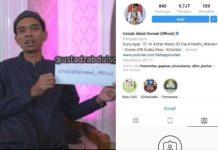 Akun Fanpage Facebook Resmi Ustadz Abdul Somad Raib