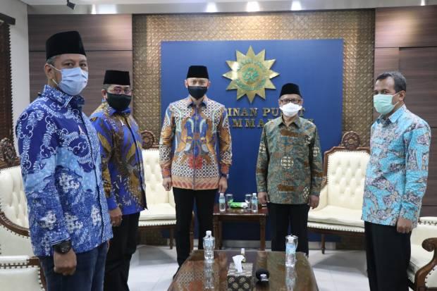 Demokrat Kubu AHY Sowan ke Muhammadiyah, Begini Pesan Haedar Nashir