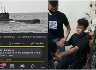 Viral! Komentar Cabul Buat Istri Kru KRI Nanggala, Pria Medan Nangis Diciduk TNI