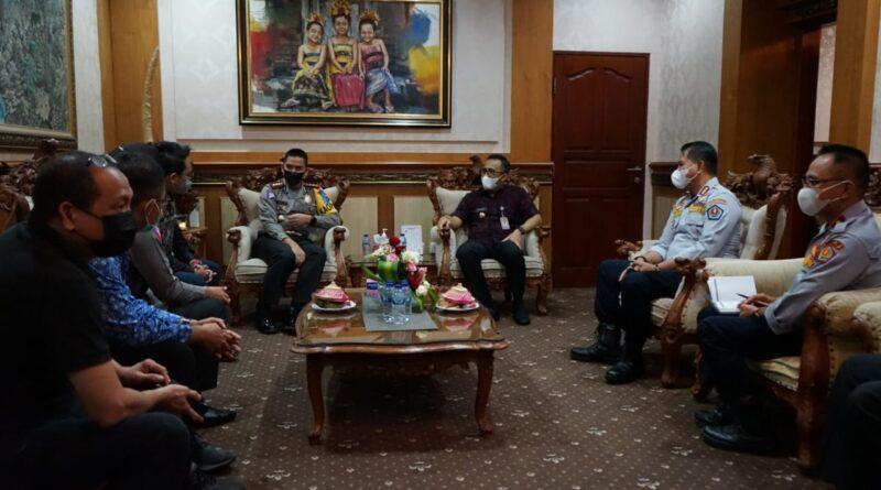 Pemerintah Kota Denpasar Siap Dukung Program ETLE
