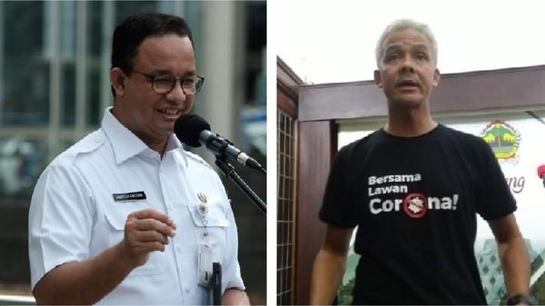Aroma Pilpres di Balik Colekan Ganjar Pranomo ke Anies Baswedan