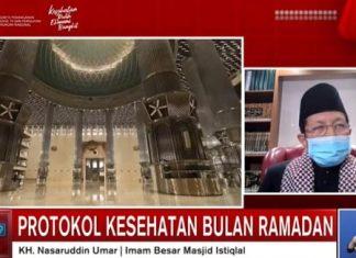 Putus Rantai Penyebaran Covid-19 Di Bulan Ramadhan, Masjid Istiqlal Batasi Jama'ah Hanya 1 Persen