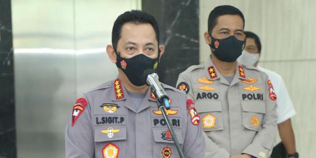 Bantu Evakuasi KRI Nanggala 402, Polri Dirikan Dua Posko