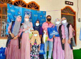 Sambut Ramadhan Majelis Ta'lim Ar Raudhah Gandeng ACT Bali Salurkan Paket Pangan di Karangasem